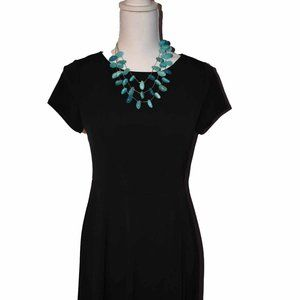 The Limited XS Black Dress cap sleeves NWT